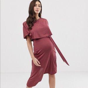 ASOS Design Maternity midi dress
